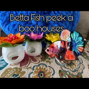 Easter Basket for your Betta Fish